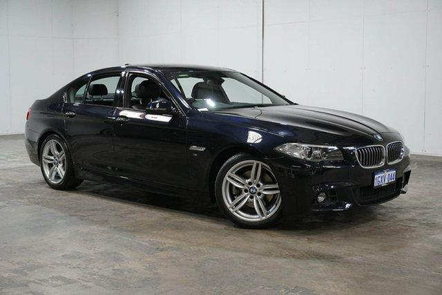 Used BMW 5 Series F10 LCI 520i Steptronic M Sport, 2015 BMW 5 Series F10 LCI 520i Steptronic M Sport Black 8 Speed Sports Automatic Sedan