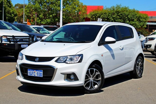 Used Holden Barina TM MY17 LS, 2016 Holden Barina TM MY17 LS White 5 Speed Manual Hatchback