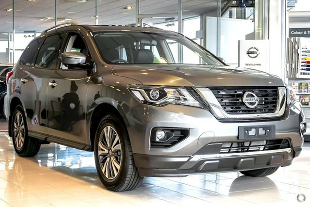 Demo Nissan Pathfinder R52 Series III MY19 ST-L X-tronic 2WD, 2018 Nissan Pathfinder R52 Series III MY19 ST-L X-tronic 2WD Gun Metallic 1 Speed Constant Variable