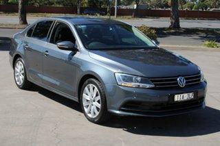 2016 Volkswagen Jetta 1KM MY16 118 TSI Comfortline Grey 7 Speed Auto Direct Shift Sedan.