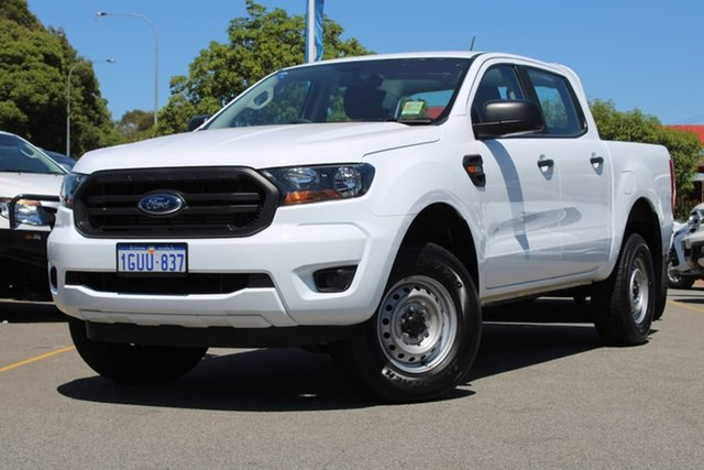Used Ford Ranger PX MkIII 2019.00MY XL Pick-up Double Cab 4x2 Hi-Rider, 2018 Ford Ranger PX MkIII 2019.00MY XL Pick-up Double Cab 4x2 Hi-Rider White 6 Speed