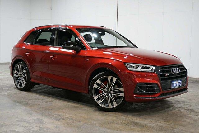 Used Audi SQ5 FY MY18 Tiptronic Quattro, 2017 Audi SQ5 FY MY18 Tiptronic Quattro Red 8 Speed Sports Automatic Wagon