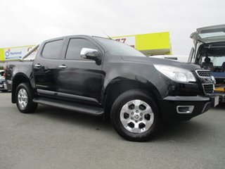 2014 Holden Colorado RG MY14 LTZ Crew Cab Black 6 Speed Sports Automatic Utility