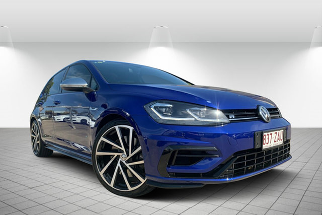 Used Volkswagen Golf 7.5 MY18 R DSG 4MOTION Grid Edition, 2018 Volkswagen Golf 7.5 MY18 R DSG 4MOTION Grid Edition Navy Blue 7 Speed