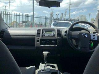 2011 Nissan Navara D40 MY11 RX (4x2) Grey 5 Speed Automatic Dual Cab Pick-up