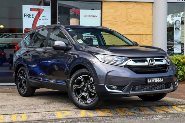 Demo Honda CR-V RW MY20 VTi-S FWD, 2019 Honda CR-V RW MY20 VTi-S FWD Modern Steel 1 Speed Constant Variable Wagon