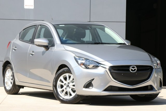 Used Mazda 2 DJ2HAA Maxx SKYACTIV-Drive, 2019 Mazda 2 DJ2HAA Maxx SKYACTIV-Drive Aluminium 6 Speed Sports Automatic Hatchback