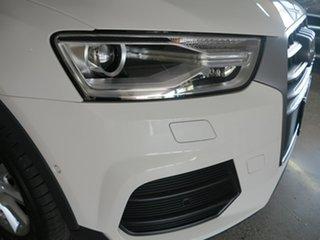 2016 Audi Q3 8U MY17 TDI S Tronic Quattro White 7 Speed Sports Automatic Dual Clutch Wagon