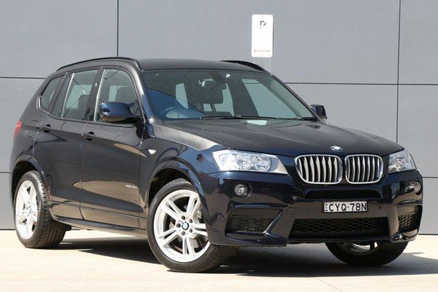 Used BMW X3 F25 MY0412 xDrive30d Steptronic, 2012 BMW X3 F25 MY0412 xDrive30d Steptronic Black 8 Speed Automatic Wagon