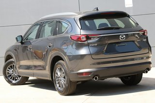 2020 Mazda CX-8 KG2WLA Sport SKYACTIV-Drive FWD Machine Grey 6 Speed Sports Automatic Wagon.