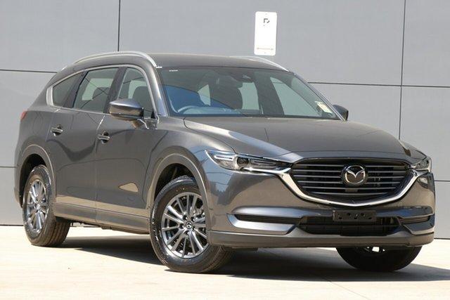 New Mazda CX-8 KG4W2A Sport SKYACTIV-Drive i-ACTIV AWD, 2019 Mazda CX-8 KG4W2A Sport SKYACTIV-Drive i-ACTIV AWD Machine Grey 6 Speed Sports Automatic Wagon