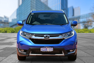 2018 Honda CR-V RW MY18 VTi-L FWD Brilliant Sporty Blue 1 Speed Constant Variable Wagon