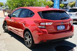 2019 Subaru Impreza G5 MY19 2.0i CVT AWD Pure Red 7 Speed Constant Variable Hatchback.