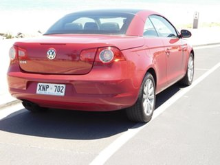 2007 Volkswagen EOS 1F FSI DSG Red 6 Speed Sports Automatic Dual Clutch Convertible