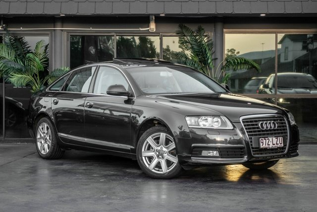 Used Audi A6 4F MY10 Multitronic, 2009 Audi A6 4F MY10 Multitronic Grey 1 Speed Constant Variable Sedan
