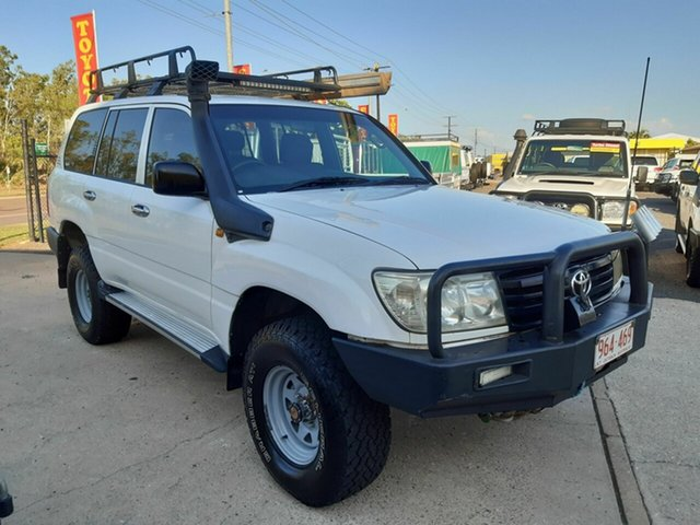 Used Toyota Landcruiser 100 Series Standard, 2006 Toyota Landcruiser 100 Series Standard White 5 Speed Manual Wagon
