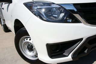 2019 Mazda BT-50 UR0YE1 XT 4x2 Cool White 6 Speed Manual Cab Chassis.