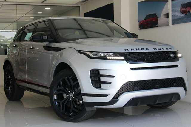 New Land Rover Range Rover Evoque L551 MY20 D150 R-Dynamic S, 2019 Land Rover Range Rover Evoque L551 MY20 D150 R-Dynamic S Indus Silver 9 Speed Sports Automatic