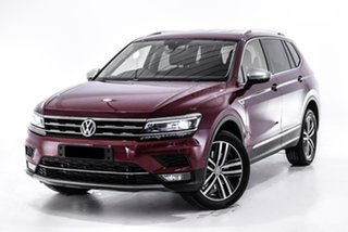 2018 Volkswagen Tiguan 5N MY18 140TDI Highline DSG 4MOTION Allspace Red 7 Speed.