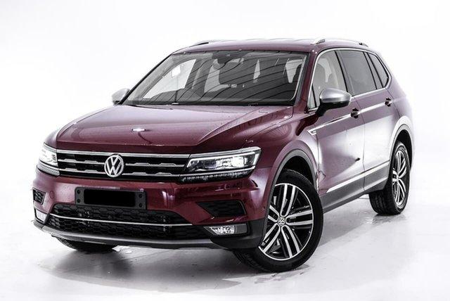 Used Volkswagen Tiguan 5N MY18 140TDI Highline DSG 4MOTION Allspace, 2018 Volkswagen Tiguan 5N MY18 140TDI Highline DSG 4MOTION Allspace Red 7 Speed