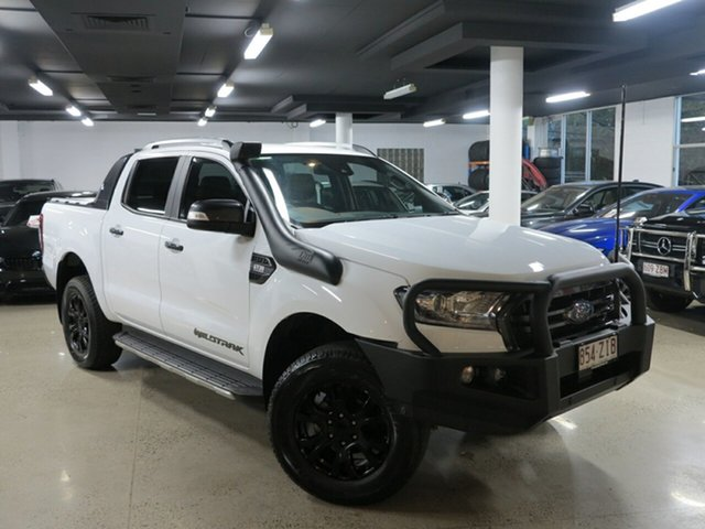 Used Ford Ranger PX MkIII 2019.00MY Wildtrak Pick-up Double Cab, 2018 Ford Ranger PX MkIII 2019.00MY Wildtrak Pick-up Double Cab White 6 Speed Sports Automatic
