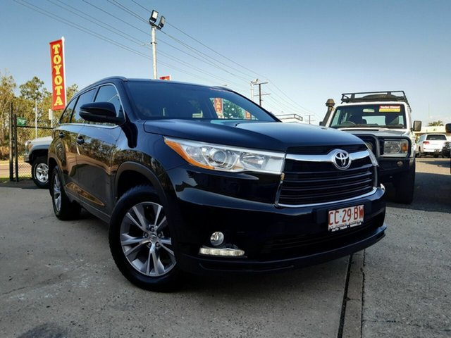 Used Toyota Kluger GSU55R GXL AWD, 2015 Toyota Kluger GSU55R GXL AWD Black 6 Speed Sports Automatic Wagon