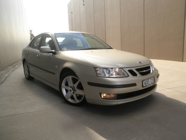 Used Saab 9-3 440 MY2007 Linear, 2007 Saab 9-3 440 MY2007 Linear Silver Green 5 Speed Sports Automatic Sedan