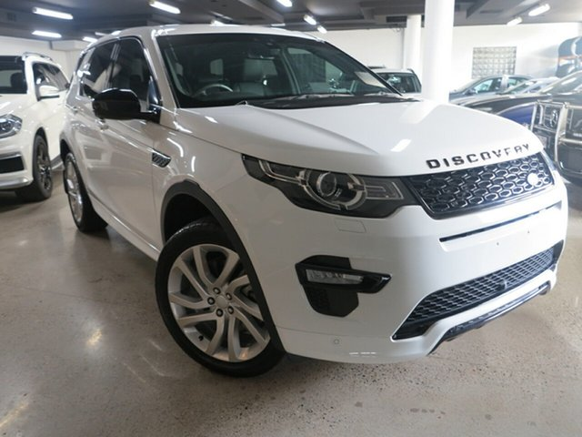 Used Land Rover Discovery Sport L550 18MY SD4 HSE, 2017 Land Rover Discovery Sport L550 18MY SD4 HSE White 9 Speed Sports Automatic Wagon