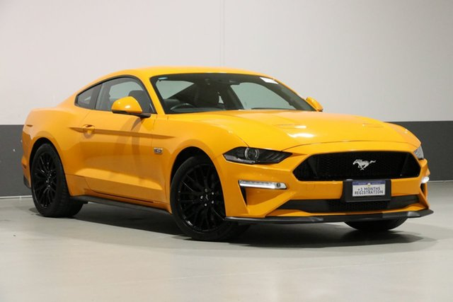 Used Ford Mustang FN Fastback GT 5.0 V8, 2018 Ford Mustang FN Fastback GT 5.0 V8 Orange 10 Speed Automatic Coupe