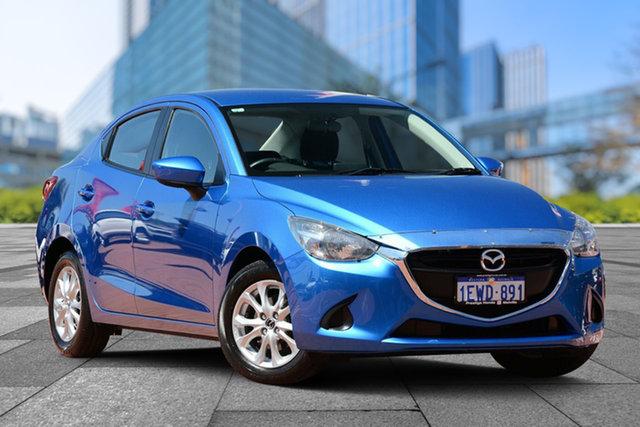 Used Mazda 2 DL2SAA Maxx SKYACTIV-Drive, 2015 Mazda 2 DL2SAA Maxx SKYACTIV-Drive Blue 6 Speed Sports Automatic Sedan