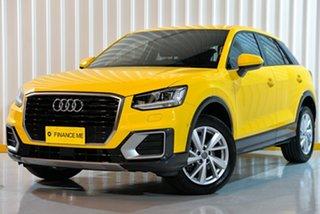 2019 Audi Q2 GA MY19 35 TFSI S Tronic design Yellow 7 Speed Sports Automatic Dual Clutch Wagon.