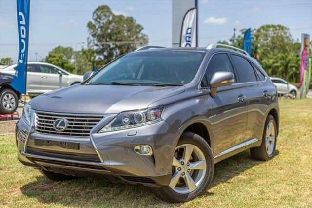 Used Lexus RX AGL10R RX270, 2014 Lexus RX AGL10R RX270 Mercury Grey 6 Speed Sports Automatic Wagon