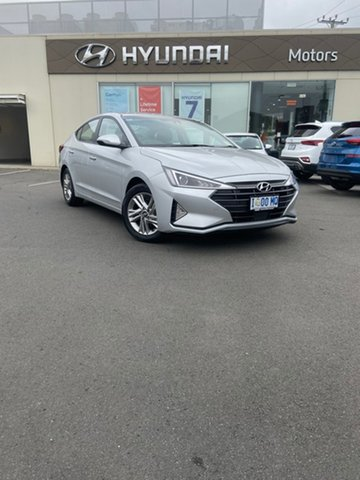 Demo Hyundai Elantra AD.2 MY19 Active, 2018 Hyundai Elantra AD.2 MY19 Active Platinum Silver 6 Speed Sports Automatic Sedan