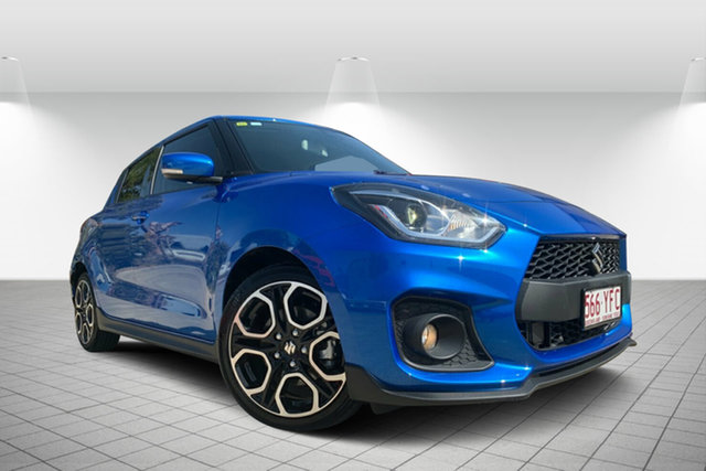 Used Suzuki Swift AZ Sport, 2018 Suzuki Swift AZ Sport Blue 6 Speed Sports Automatic Hatchback