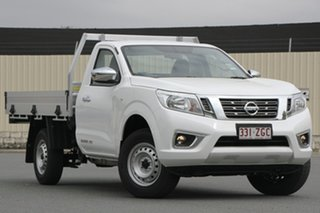 2019 Nissan Navara D23 S4 MY19 RX 4x2 Polar White 6 Speed Manual Cab Chassis.