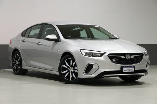 Used Holden Commodore ZB RS, 2018 Holden Commodore ZB RS Silver 9 Speed Automatic Liftback