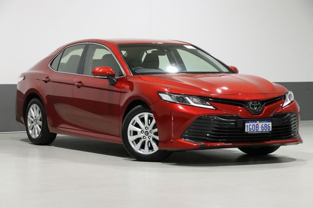 Used Toyota Camry ASV70R Ascent, 2018 Toyota Camry ASV70R Ascent Red 6 Speed Automatic Sedan