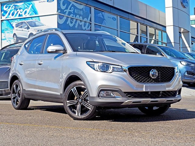 New MG ZS AZS1 MY19 Excite 2WD, 2019 MG ZS AZS1 MY19 Excite 2WD Silver 4 Speed Automatic Wagon