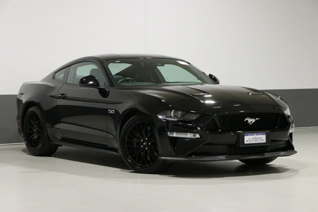 Used Ford Mustang FN Fastback GT 5.0 V8, 2018 Ford Mustang FN Fastback GT 5.0 V8 Black 10 Speed Automatic Coupe