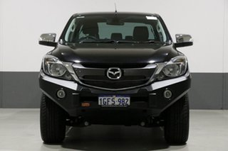 2016 Mazda BT-50 MY16 GT (4x4) Black 6 Speed Automatic Dual Cab Utility.