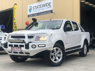 2013 Holden Colorado RG MY14 LT Crew Cab White 6 Speed Sports Automatic Utility.