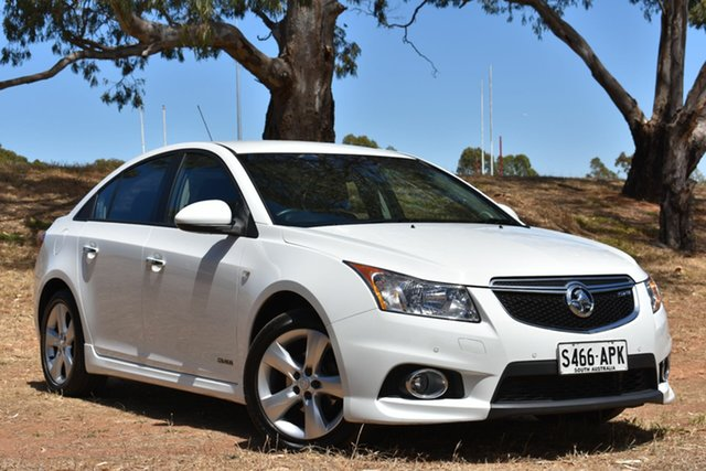 Used Holden Cruze JH Series II MY12 SRi, 2011 Holden Cruze JH Series II MY12 SRi White 6 Speed Sports Automatic Sedan