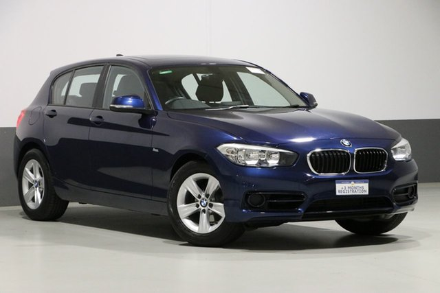 Used BMW 118i F20 LCI Sport Line, 2016 BMW 118i F20 LCI Sport Line Blue 8 Speed Automatic Hatchback