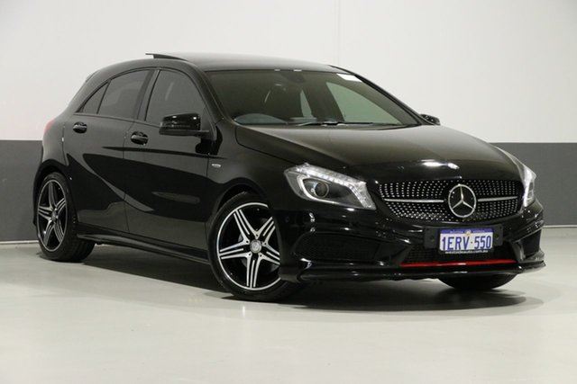 Used Mercedes-Benz A250 176 MY15 Sport, 2015 Mercedes-Benz A250 176 MY15 Sport Black 7 Speed Automatic Hatchback