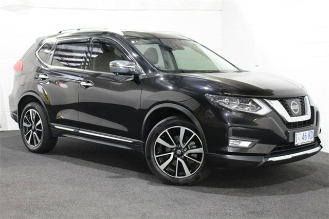 Used Nissan X-Trail T32 Series II TL X-tronic 4WD, 2018 Nissan X-Trail T32 Series II TL X-tronic 4WD Black 7 Speed Constant Variable Wagon