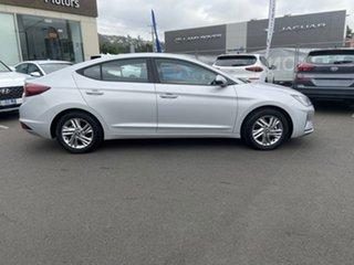 2018 Hyundai Elantra AD.2 MY19 Active Platinum Silver 6 Speed Sports Automatic Sedan.