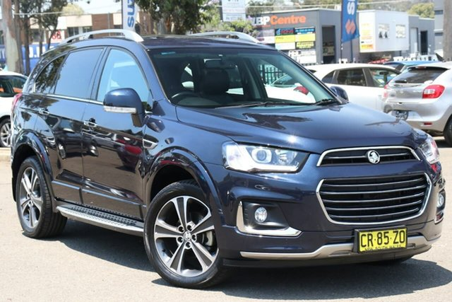 Used Holden Captiva CG MY18 LTZ AWD, 2018 Holden Captiva CG MY18 LTZ AWD Blue 6 Speed Sports Automatic Wagon