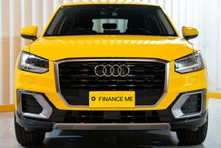 2019 Audi Q2 GA MY19 35 TFSI S Tronic design Yellow 7 Speed Sports Automatic Dual Clutch Wagon