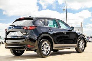 2017 Mazda CX-5 KF2W7A Maxx SKYACTIV-Drive FWD Sport Jet Black 6 Speed Sports Automatic Wagon
