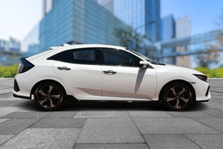 2019 Honda Civic 10th Gen MY19 RS Platinum White 1 Speed Constant Variable Hatchback
